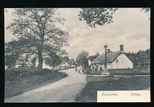 Somerset CROWCOMBE Village Cross c1920/30s? PPC by Montague Cooper Taunton