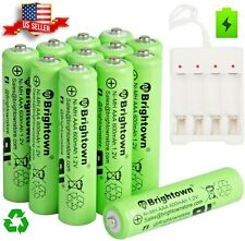 2-20 Pcs AAA Rechargeable Batteries Ni-Mh 600mAh Battery Generic AAA/AA Charger