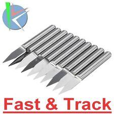 Frese incisione 30 degree 0.3mm bulino V-shape Carbide PCB Engraving Bits CNC