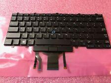 GENUINE Dell Latitude E5450 E7250 E7450 E7470 US Backlit Laptop Keyboard D19TR