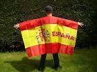 DRAPEAU CAPE ESPAGNE 150x90cm - BODY FLAG SUPPORTER ESPAGNOL 90 x 150 cm
