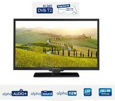 Alphatronics SL-24 DSB mit DVB-S2/DVB-T2 & DVD Player für 12/230V Caravan WoMo