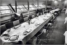 "Photo: 5"" x 7"": Dining Room Of LZ129 AKA Hindenburg With Port Promenade"