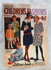 Robert Opie Vintage Advertising Postcard - Leach's Children's Fashions - NEW