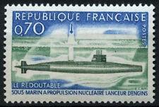 France 1969 SG#1849, 1st français sous-marin nucléaire neuf sans charnière #D43426
