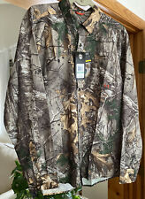 NWT - Under Armour Camo Hunting Fishing Long Sleeve Button Down Realtree Size: L
