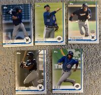 MILWAUKEE BREWERS 2019 Topps Pro Debut MASTER TEAM SET w/ Inserts (6 Cards) Ray+