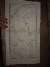 1788 A NEW CHART OF THE CASPIAN SEA D'ANVILLE MAP RUSSIA AZERBAIJAN BAKU KAZAKH