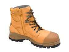 Work boots Blundstone 992 zip sider safety toe Australian Mens Sizes +FREE wonka