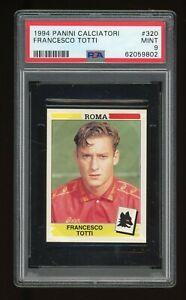 1994 Panini Calciatori Francesco Totti #320 PSA 9 Rookie FRESHLY GRADED