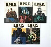 Hellboy B.P.R.D TPB Lot of 5 Vol 1 2 4 6 7 Dark Horse Mignola Arcudi Davis 2004