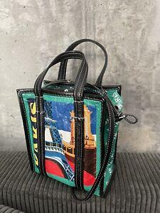 Rare Balenciaga Bazaar Shopper Tote Bag Paris Runway Leather
