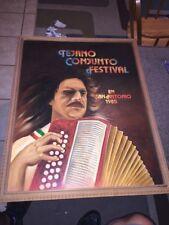 Tejano Conjuncto Festival 1985 Painting