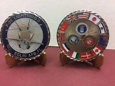F-35 Lightning II Eglin AFB, FL challenge coin