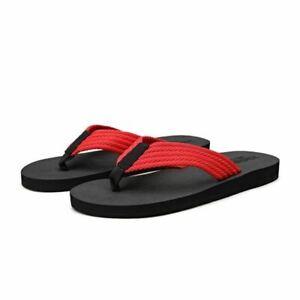 Men Summer Mixed Color Bathroom Slipper Classic Flip Flops Handmade Male Sandals