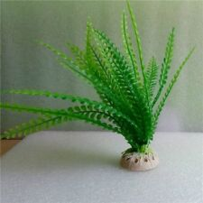 Aquarium Plant Bush Fish Tank Decoration Green Grass Plastic Artificial Silk