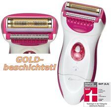 Carrera™ Damenrasierer Ladyshaver Allergie-frei: mit Gold-besch. Folie WET & DRY