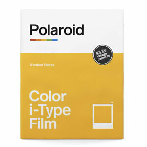 Polaroid Colour Film For Polaroid i-Type Cameras (8 Shots)