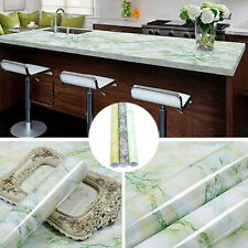 Marble Contact Paper Self Adhesive Wallpaper Sticker Kitchen Table Waterproof US