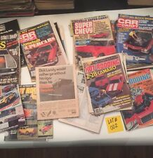 Diff Car Magazines 1980's OVER 30 ISSUES Super Stock Hot Rod Car Craft Etc  #002