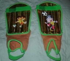 New Dora The Explorer Children Kids Sports Youth Soccer Shin Leg Guard Protector