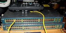 CISCO 3560G 48 Port PoE Switch, Gigabit Switch WS-C3560G-48PS-S V05 Rack Mount