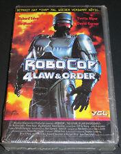 VHS RoboCop 4 Law & Order, Richard Eden, Yvette Nipar, Blu Mankuma, NEU & OVP