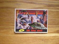 62' VINTAGE TOPPS MARS ATTACKS GUM CARD #26 THE TIDAL WAVE NORM SAUNDERS ARTWORK