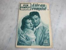 *** Film Complet n° 293 (17/01/1952) - L'île au Complot