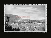 1940s MOUNTAIN THE PEAK HILL VIEW CITY HOUSE B&W Vintage Hong Kong Photo #1089