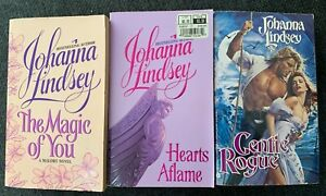 Johanna Lindsey The magic of you Hearts Aflame Gentle Rogue