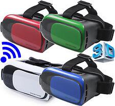 VR Occhiali 3D Realta' Virtuale VISORE Glasses TELEFONO Per ANDROID Universali
