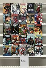 Spider-girl Marvel  25 Lot Comic Book Comics Set Run Collection Box