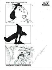 MARK SIMON Hand Drawn Disney MGM Studios Mulan Parade Storyboard Page Signed #MS