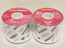 LOT 2 OPI Expert Touch 250 Wraps Removal Wrap Roll GelColor Gel Remover AC820