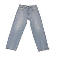 Tommy Jeans Tommy Hilfiger Blue Jeans US 38x32 Frayed Spots