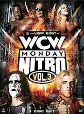 WWE: The Best of WCW Monday Night Nitro - Volume 3, 3 Disc Set Brand New Sealed