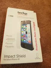 Tech21 Impact Shield Anti Glare Screen Protector For iPhone  4 4s