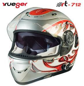 Gr. XS Motorradhelm Integralhelm Quad Roller Helm Kommunikation Icom Bluetooth