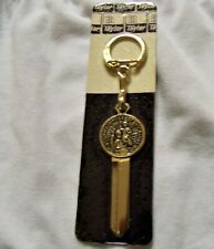 VINTAGE FORD ST. CHRISTOPHER KEY FITS 1965 THRU 1992 GOLD PLATED
