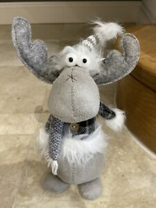 Standing Reindeer Gonk Nordic Scandi Christmas Decor Decoration Xmas Trend Home