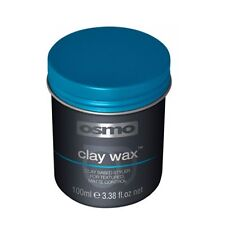 Osmo Essence Hair Styling Clay Wax No Shine Strong Hold Less Sticky 100ml