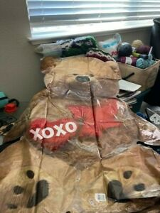LRG SHP CUDDLY BEAR XO LOVE  Balloon Anagram New!!!