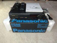 Panasonic nv-fs88 high-end S-VHS grabadora de video, completamente en OVP, 2j. garantía