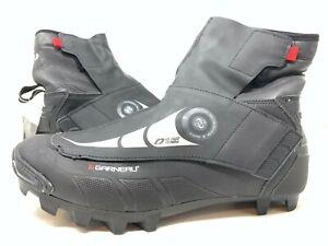 Louis Garneau Men 0 Degree LS-100 Winter Mountain Bike Shoes Black Size 10.5 US