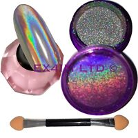 Holographic Powder 15 Microns Unicorn Effect Mirror Chrome Nail Pigment Nails UK