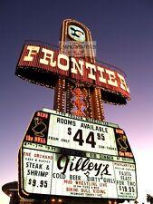 Vintage LAS VEGAS STRIP New FRONTIER Photo 8x10 Casino