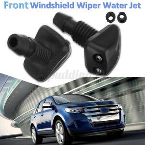 Universal Car Windscreen Sprayer Washer Wiper Nozzle Front Window Spray Jet