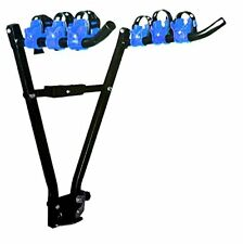 Car rear scissor towball mounted cycle carrier for 3 bikes fixes to towbar rear