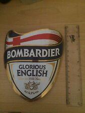 Wells Bombardier Beer - Pub/Bar Pump Clip.